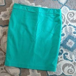 Liz Claiborne Kelly Green Career Pencil Skirt 12
